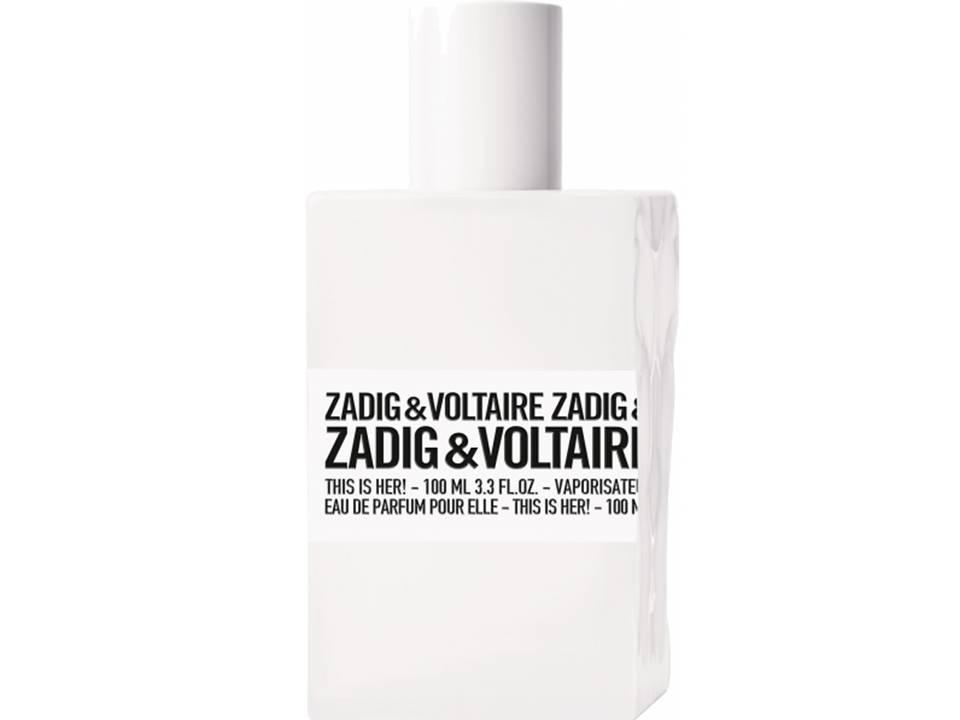 This is Her  by Zadig & Voltaire Eau de Parfum TESTER 100 ML.